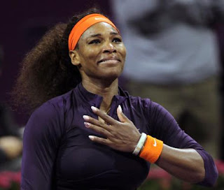 Serena Williams back at 'world No 1'