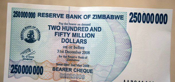 Forex zimbabwe dollar p