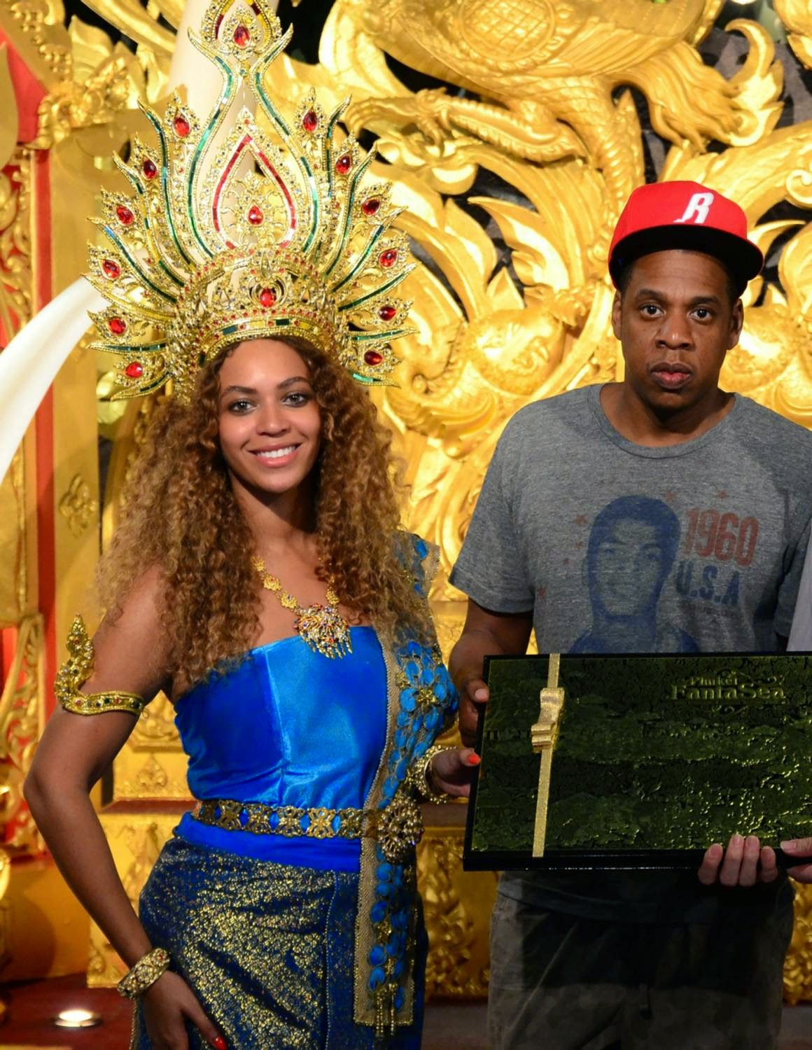 Jay-Z and Beyonce Celebrate New Year in Phuket, Thailand