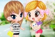 2 Tane Tatlı Küçük Kız Oyunu