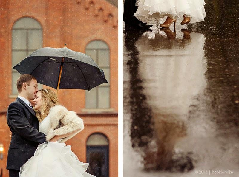 Wedding Talk: Rain On Your Wedding Day