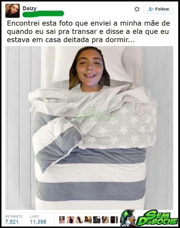 ESSA MANJA DE MENTIR PRA MÃE