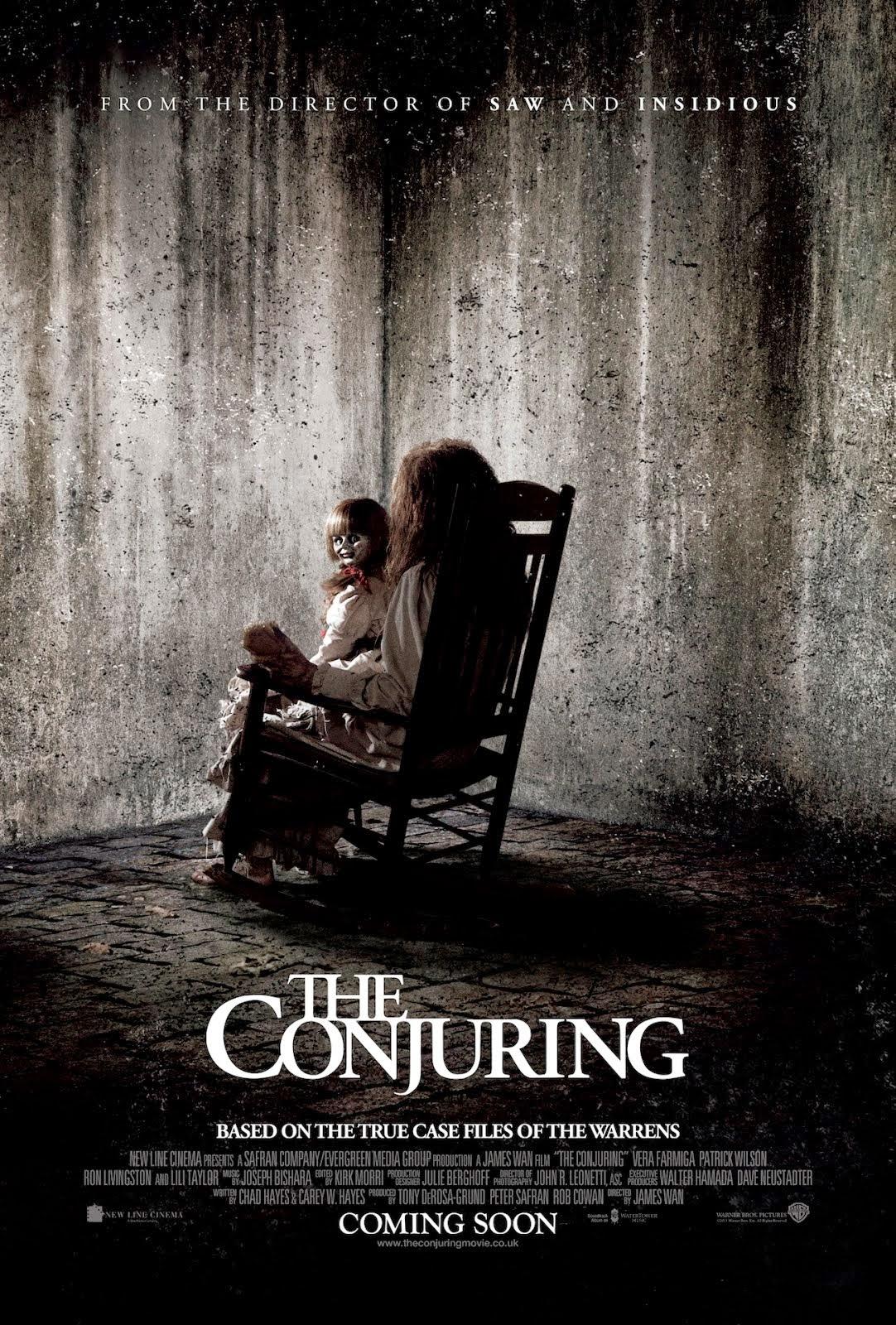 Afiche de El Conjuro