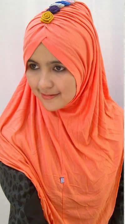 model jilbab terkini