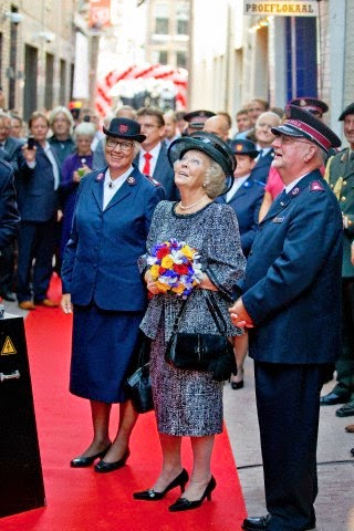 Dutch Princess Beatrix opens the Majoor Bosshardt Burgh in Amsterdam, The Netherlands, 03.10.2014.