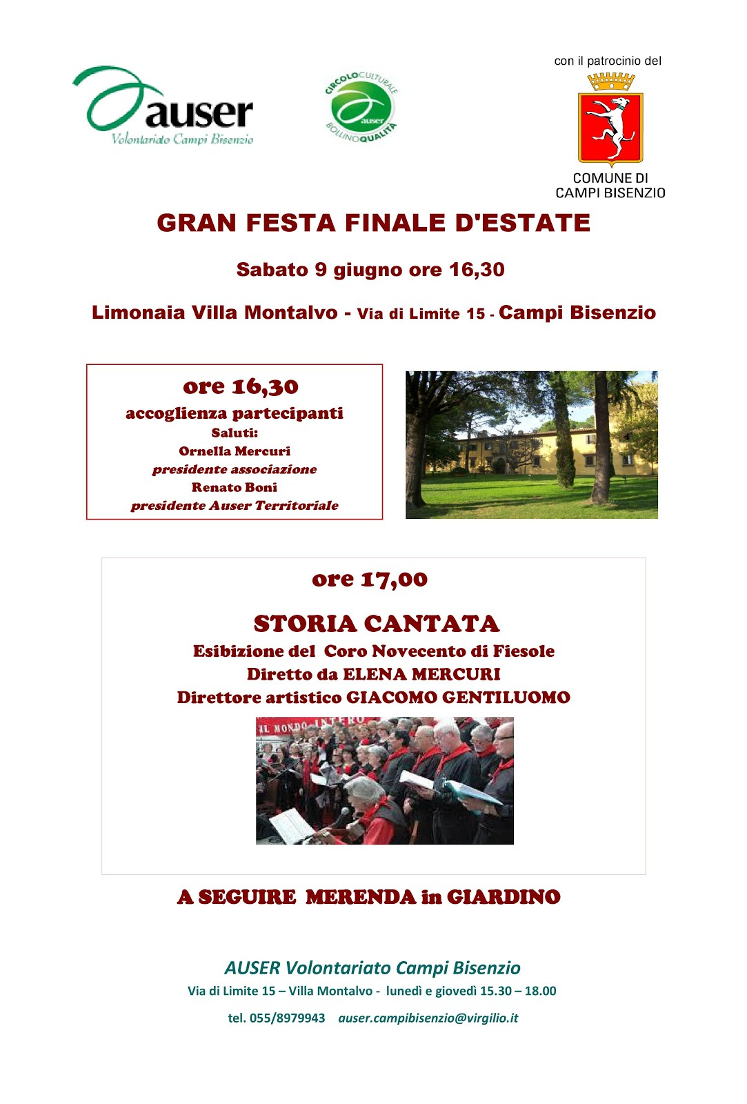GRAN FESTA FINALE D'ESTATE