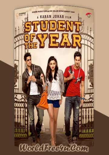 Cover Of Student of the Year (2012) Hindi Movie Mp3 Songs Free Download Listen Online At worldfree4u.com