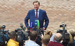 Глава администрации президента Сергей Иванов  о коррупции