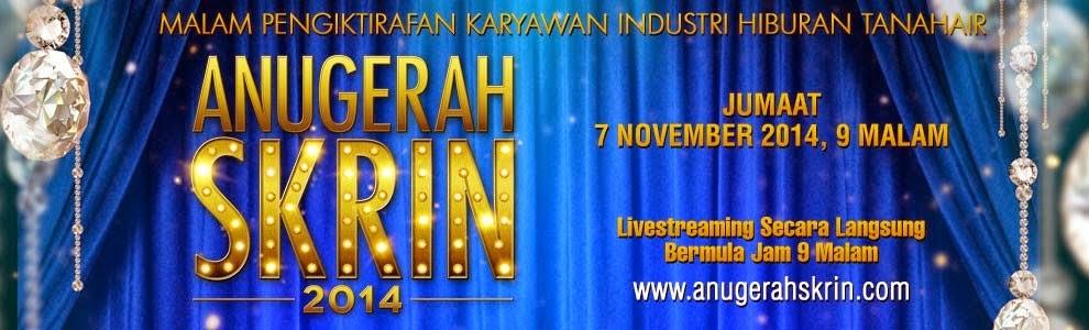 Senarai Pemenang Majlis Anugerah Skrin 2014