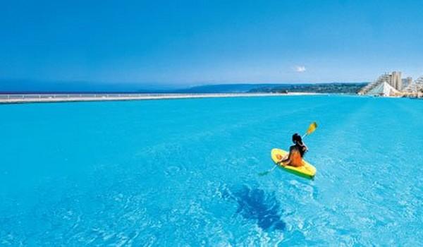 Dr wtf blog la piscina m s grande del mundo for Piscina mas grande del mundo chile