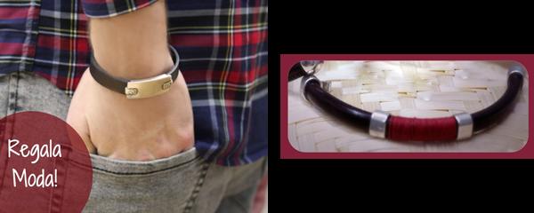 AQUÍ tenéis el paso a paso de estas otras dos originales pulseras para hombre.