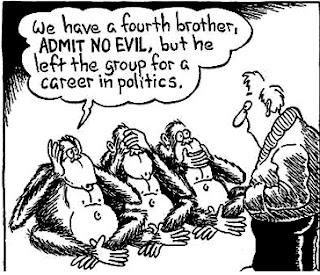 La signification secrète des ''trois singes sages'' – cachée par l'Élite  9