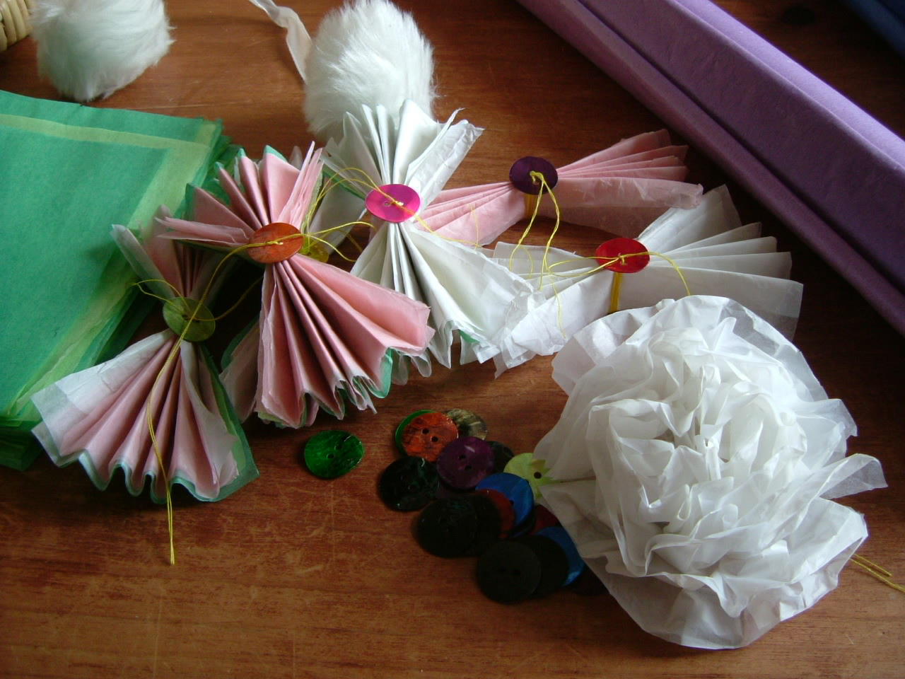 how to make a bonnet out of paper