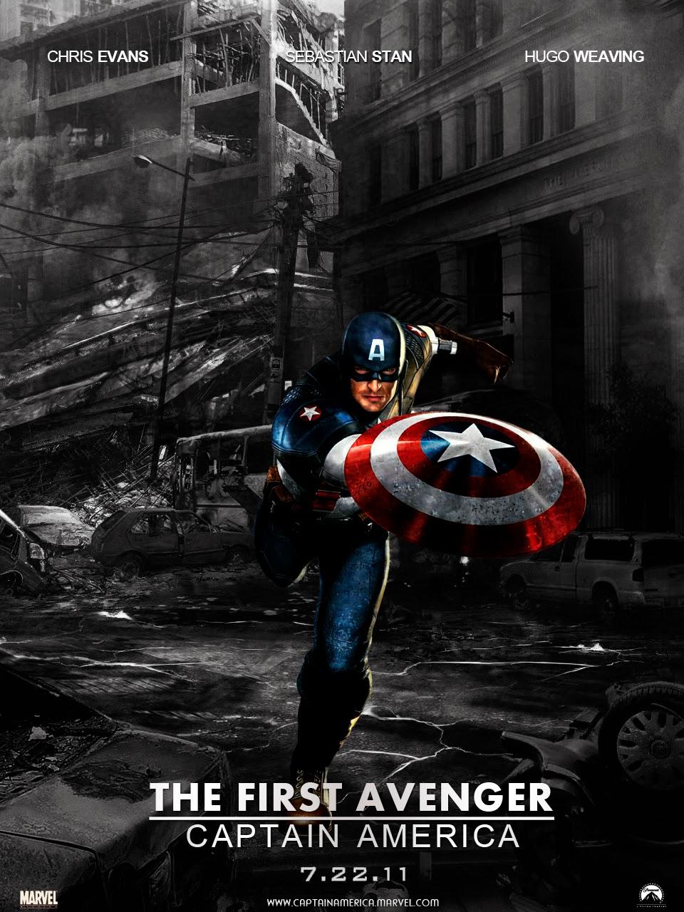 Captain America กัปตันอเมริกา อเวนเจอร์ที่ 1 [HD][พากย์ไทย]