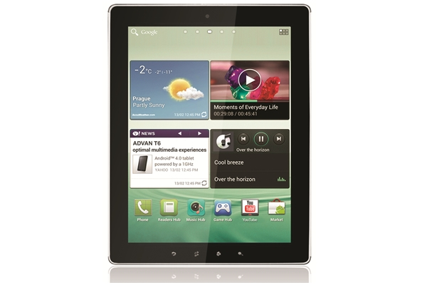 Advan Vandroid T6 Tablet Android Terbaru dari Advan