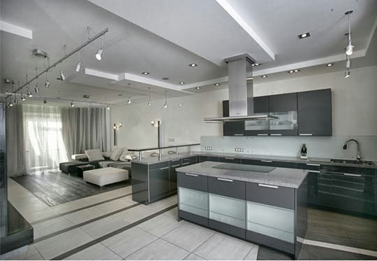decoração-cozinha-cinza