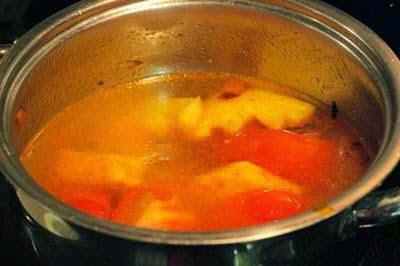 Vietnamese Recipes Vegetarian - Canh Chua Nấu Nấm