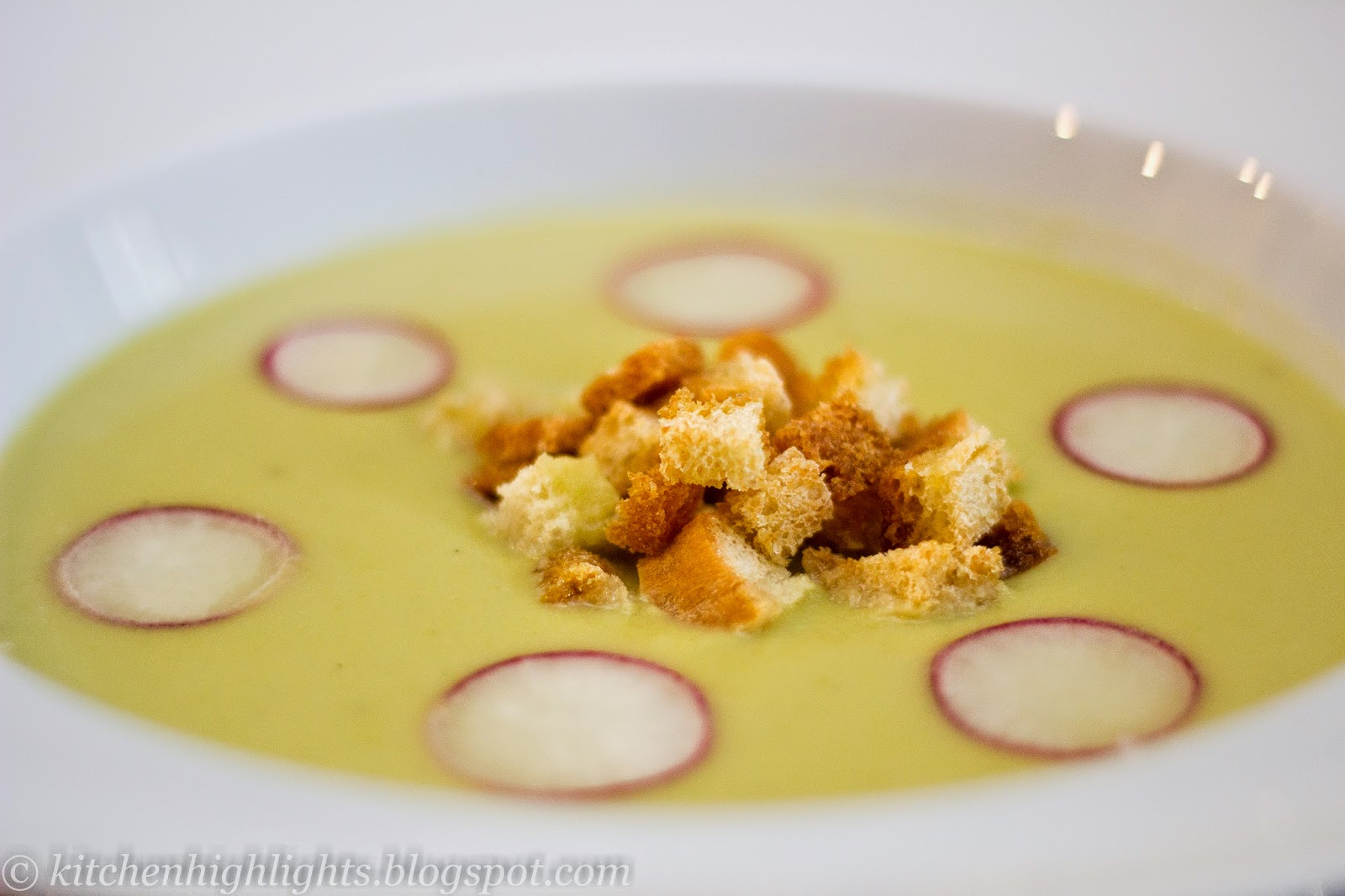 Creamy asparagus soup is a  wonderful way to enjoy fresh and healthy vegetables offered by spring