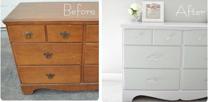 Artesare muebles renovados - Pintar muebles viejos ...