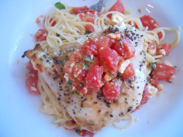 pithy's kitchen bruschetta chicken