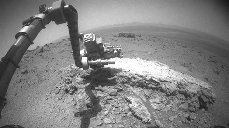 El sitio del agua en Marte por ahora no se puede explorar