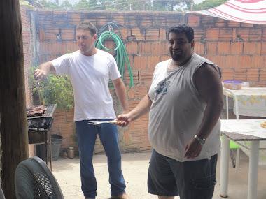 Paulo Cavadeira e Vavá Sargento