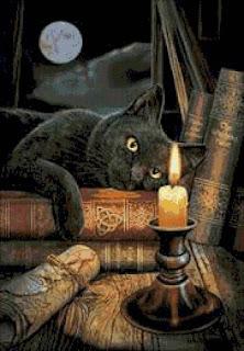 Фигурные свечи в магии