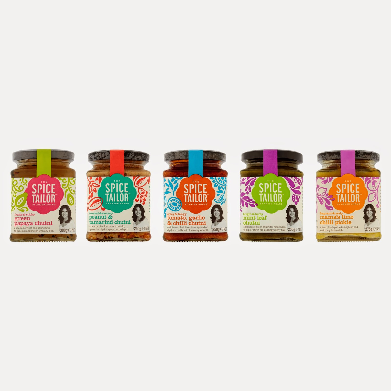 The Spice Tailor chutni range