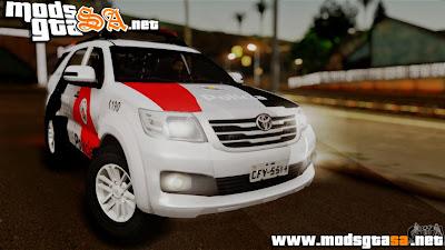 SA - Toyota Hilux SW4 2014 Forca Tatica