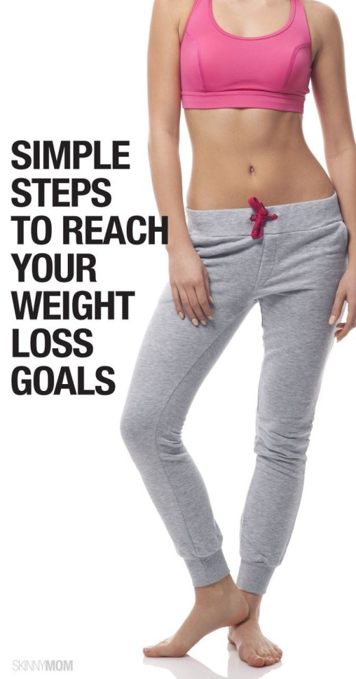Simple Steps to Reach Your Weight Loss Goals