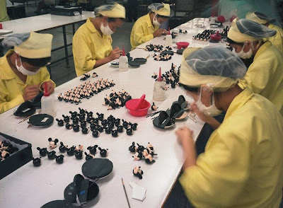 Chinese Factory Workers And The Toys
