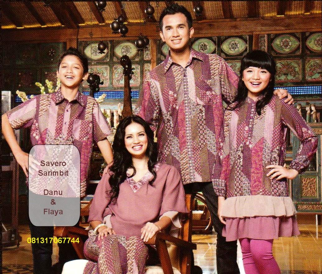 Fashion Baju Sarimbit Muslim Keluarga Terbaru