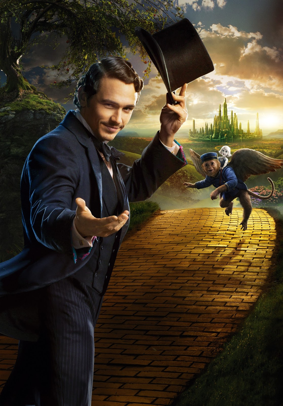 Oz the Great and Powerful Serie de Textless posters