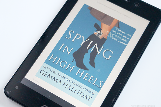 Book review: Spying in High Heels by Gemma Halliday