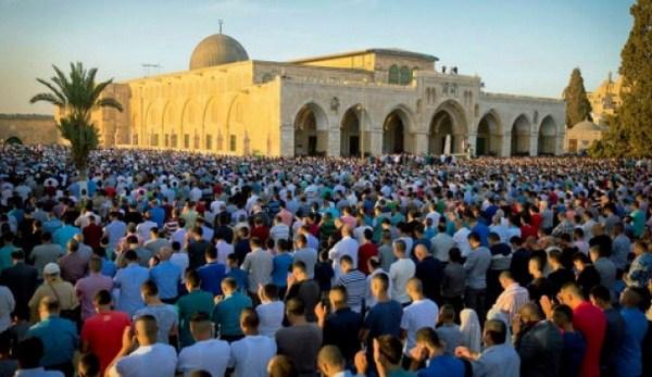 Perayaan Idul Adha di Al-Aqsha, Salam untuk Muslimin Indonesia