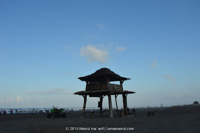 Pagi Hari di Pantai Parangtritis