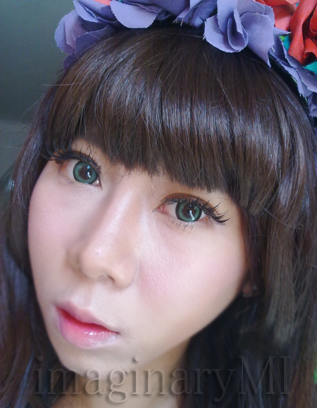 Dueba Dreamy.i Green softlens