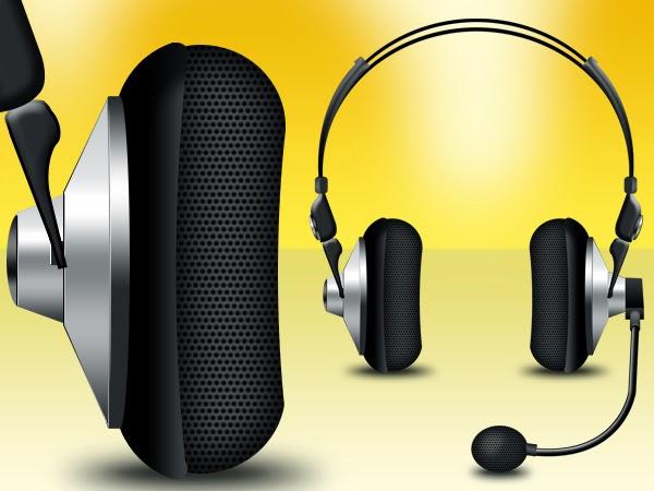 Headphones Icons PSD