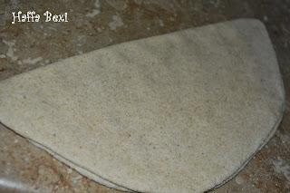 Bread & Buns, Breakfast, Chapati, Flat Bread, Paratha, triangle paratha, triangle chapati