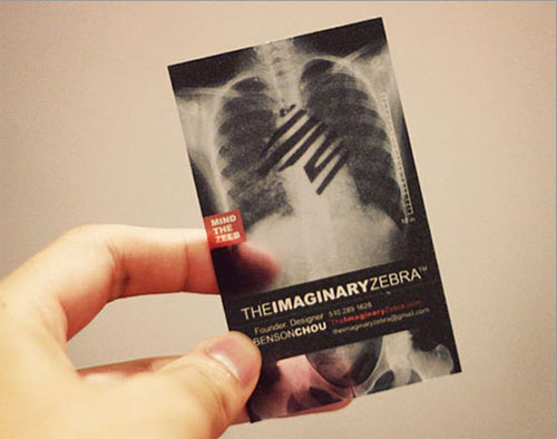 Fortune card tech limited plastic card supplier 30 creative beautiful and creative business card made to look as an x ray another example of creativity only available in plastic designs reheart Choice Image