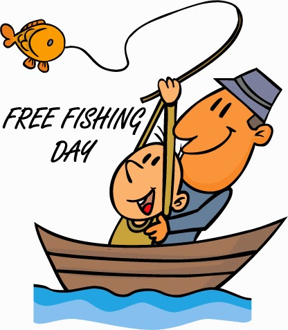 West michigan mommy free fishing days june 6th 14th for Michigan out of state fishing license