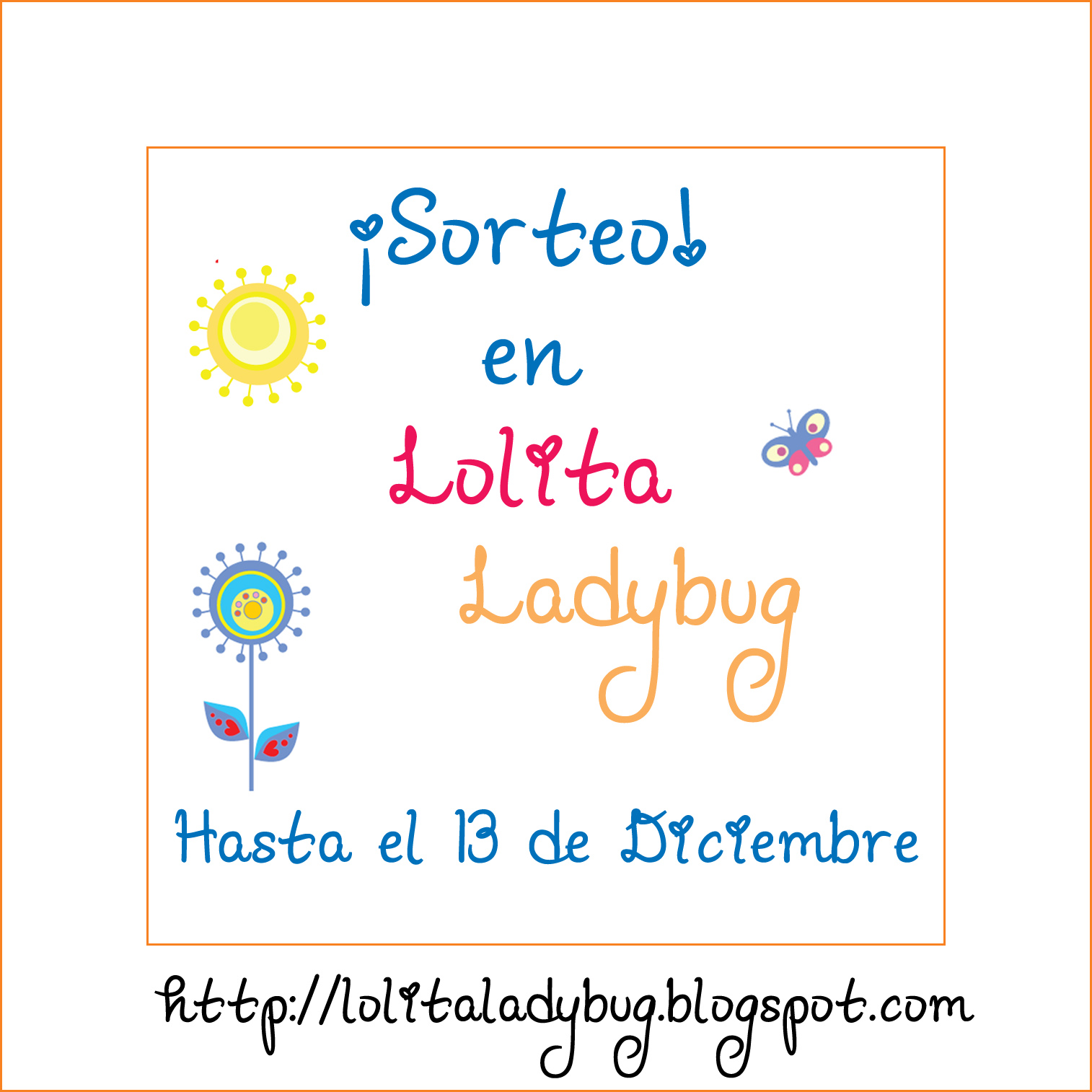 SORTEO EN LOLITA LADYBUG