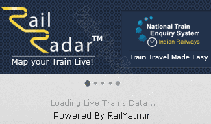 rail radar train enquiry starting