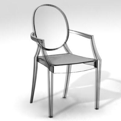 Louis Ghost di Philippe Starck by Kartell, 10° compleanno per la ...