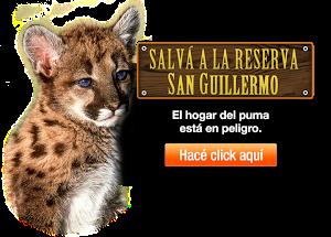 Salvá a la reserva San Guillermo