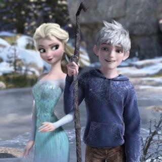 Gambar Elsa dan Jack Forst wallpaper 5
