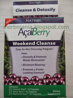 Iherb AçaiBerry Weekend Cleanse opinion