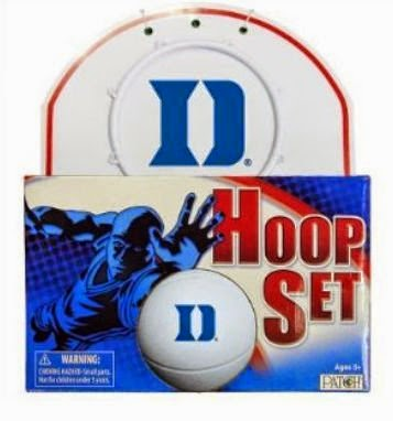 Duke Blue Devils NCAA Hoop Set