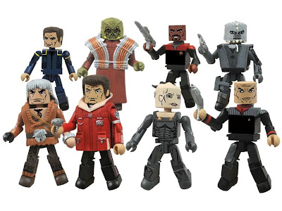 Diamond Select Star Trek Legacy Minimates Series 1 figures