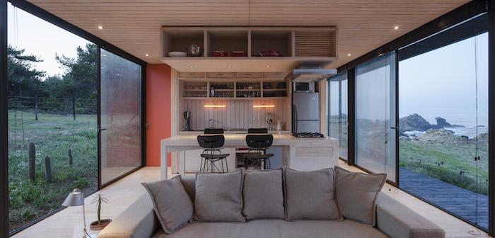 Casas minimalistas y modernas casa minimalista en chile for Casa minimalista en